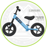 Madd Gear Balance Bike Blue Adjustable