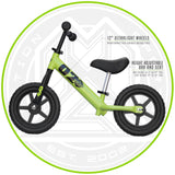 Kids Balance Bike Green Quality