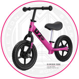 Light Aluminum Balance Bike Pink