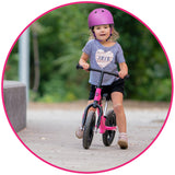 Little Girl Balance Bike