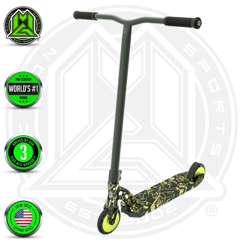 Madd Gear MGP VX8 Nitro Black Gold Scooter