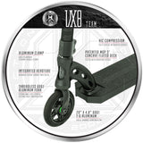 Madd Gear VX8 Team Stunt Scooter Black Fork