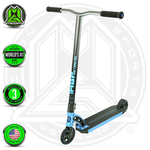Madd Gear MGP VX8 Team Blue Complete Scooter