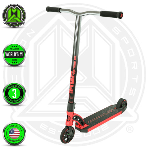 Madd Gear VX8 Team Stunt Scooter Red Complete