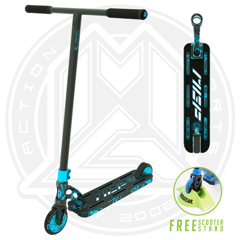 MGP VX9 Nitro Pro Scooter - Blue Splatter - Main