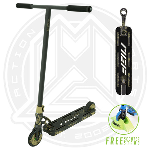 MGP VX9 Nitro Pro Scooter - Gold Splatter - Main