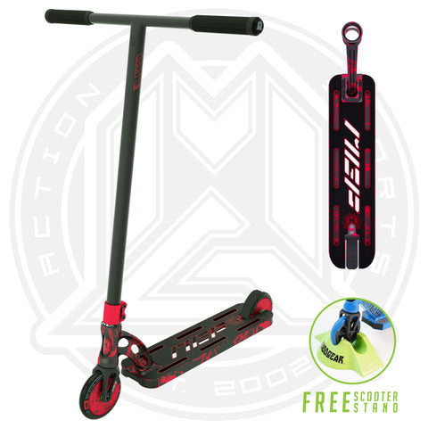 MGP VX9 Nitro Pro Scooter - Red Splatter - Main