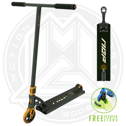 MGP VX9 Pendulum Pro Scooter - Black / Bronze - Main