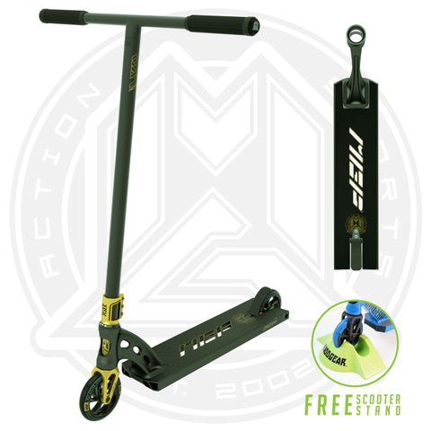 MGP VX9 Pendulum Pro Scooter - Black / Gold - Main