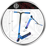 MGP VX9 Team Pro Scooter - RP-1 - Product Dimensions