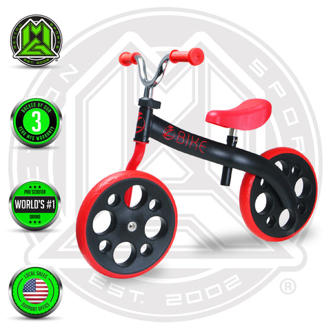 Zycom ZBike Balance Bike - Black / Red