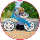 Zycom ZBike Balance Bike - Blue/White