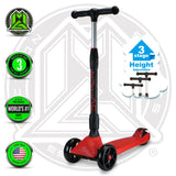 Zycom Zinger Scooter - Red / Black Main