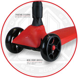 Zycom Zinger Scooter - Red / Black Features