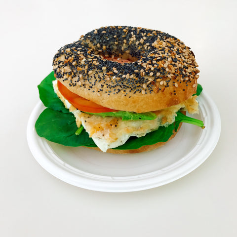 Healthy Start Bagel Sandwich