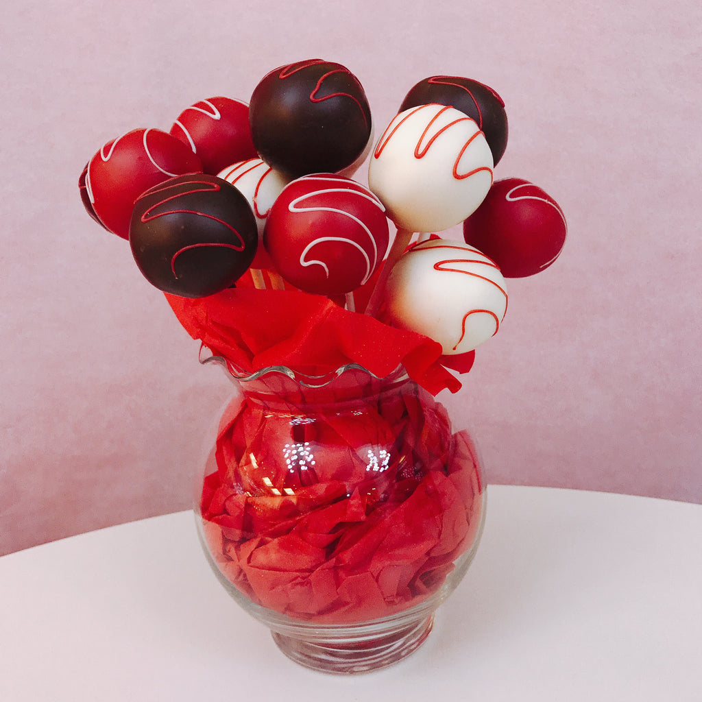 Holiday Cakepop Gift Basket