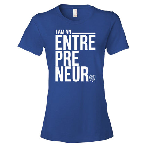 I Am An Entrepreneur - Women's Short Sleeve t-shirt