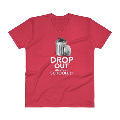 Drop Out and Get Schooled - White