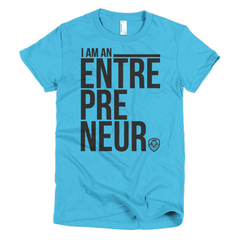 I Am An Entrepreneur Black - Women's