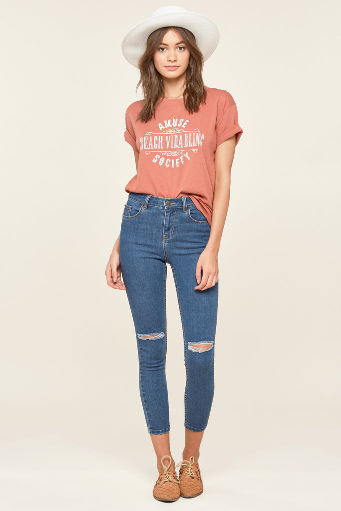 Iconic Skinny Jean / Blue Wash