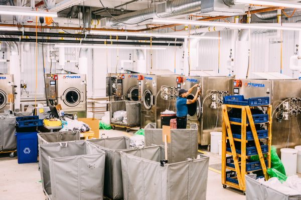 The laundry room in Northfield, Vermont