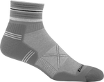 Coolmax® Vertex 1/4 Ultra-Light is Ultra-Light Weight: Our lightest sock for race day or anyone looking for a lighter-than-air feel from a tougher than hell sock.