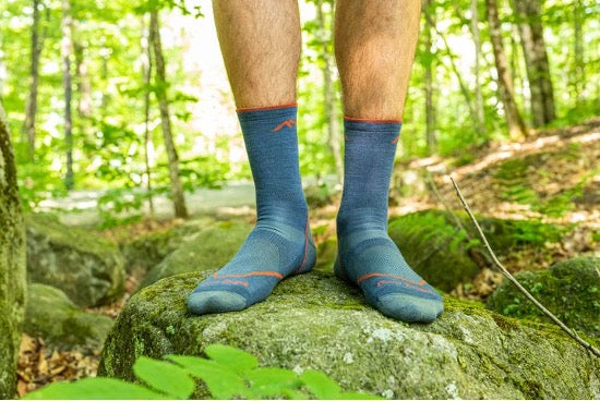 The new Light Hiker sock in Micro Crew height