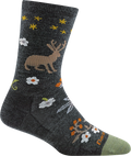 Women's Folktale Crew Lightweight Lifestyle Sock