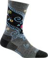Women's Twisted Garden Crew Lightweight Lifestyle Sock