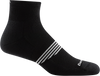 black ankle sock