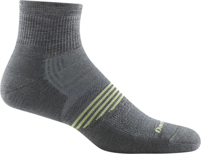 gray ankle sock