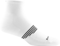 white ankle sock