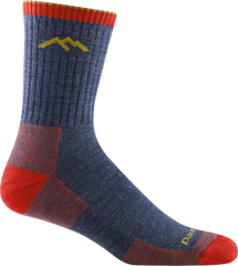 Darn Tough Hiker Micro Crew Cushion Sock - Denim