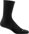 black durable crew sock