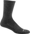 gray durable crew sock
