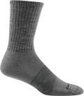 medium gray durable crew sock