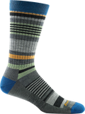 Darn Tough striped crew sock