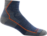blue ankle hiking sock
