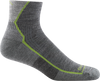 gray ankle hiking sock