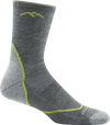 slight gray crew sock