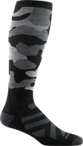 Men's Camo Over-the-Calf Midweight Ski & Snowboard Sock
