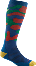 Kids Camo Over-the-Calf Midweight Ski & Snowboard Sock