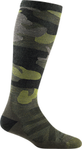 Women's Camo Over-the-Calf Midweight Ski & Snowboard Sock