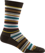funky, multi-color striped office sock