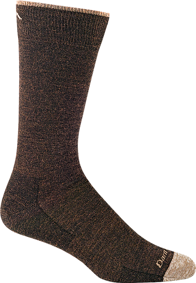 brown crew sock