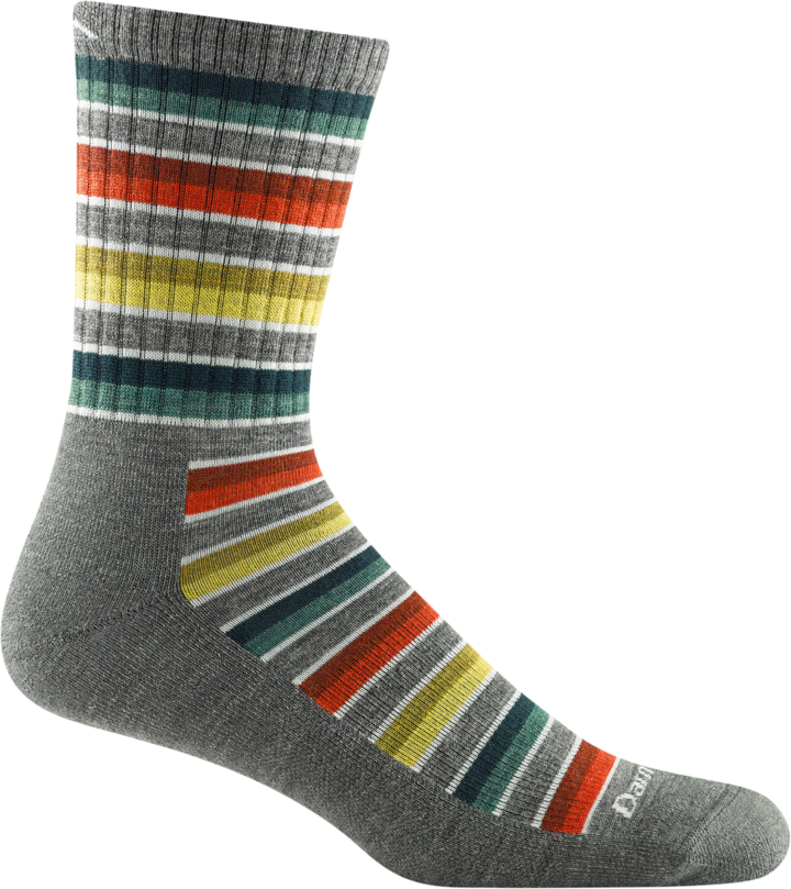 Men's and Women's Decade Stripe 2-Pack Hiking Socks