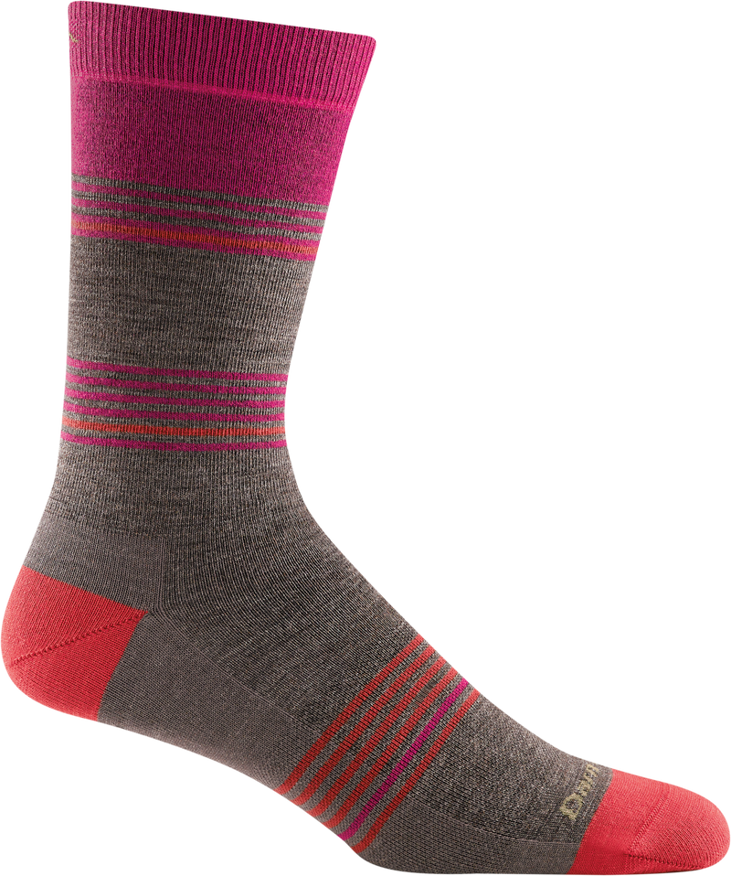 Men's Flash Stripe Crew Lightweight Lifestyle Sock