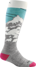 Women's Yeti Over-the-Calf Midweight Ski & Snowboard Sock