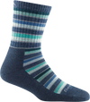 Women's Decade Stripe Micro Crew Midweight Hiking Sock