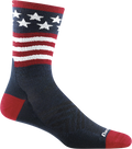Men's Patriot Micro Crew Ultra-Lightweight Running Sock